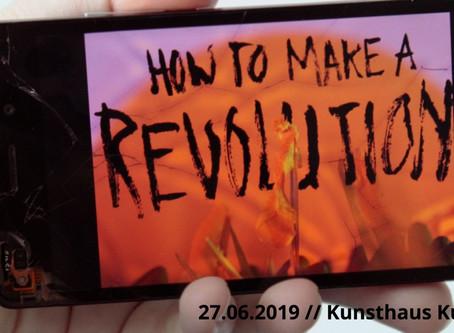 SAVE THE DATE__27.06.2019 // Kunsthaus KuLe