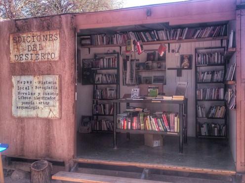 Un oasis de letras en medio del desierto