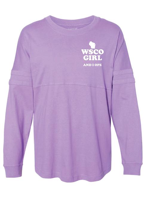 WSCO Girl Jersey Long Sleeve