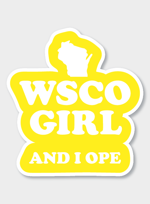 WSCO Girl Decal