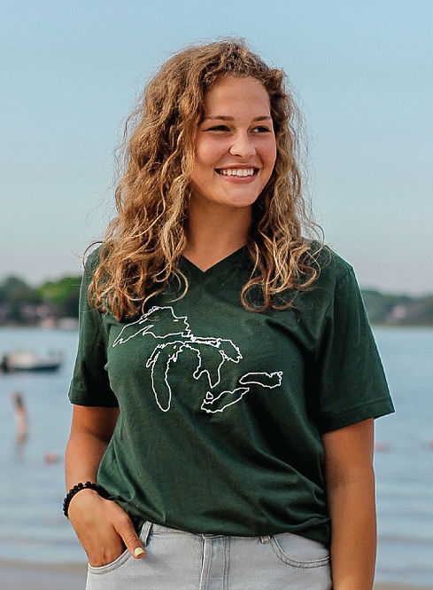 Our Great Lakes V-Neck