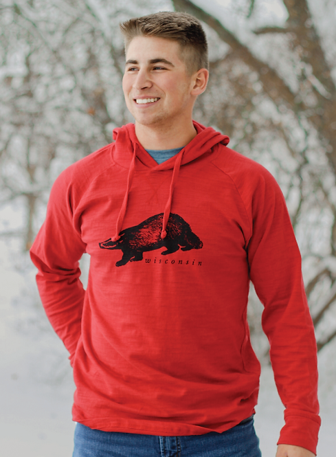Badger Hooded Long Sleeve