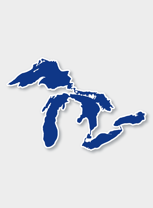 Our Great Lakes Decal