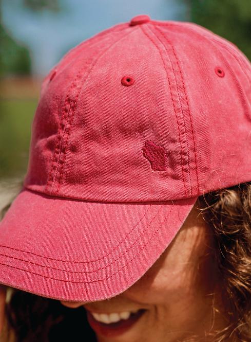 Subtle Wisconsin Cap