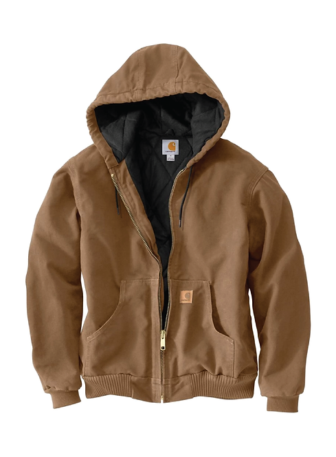Carhartt Duck Quilted Flannel-Lined Active Jac