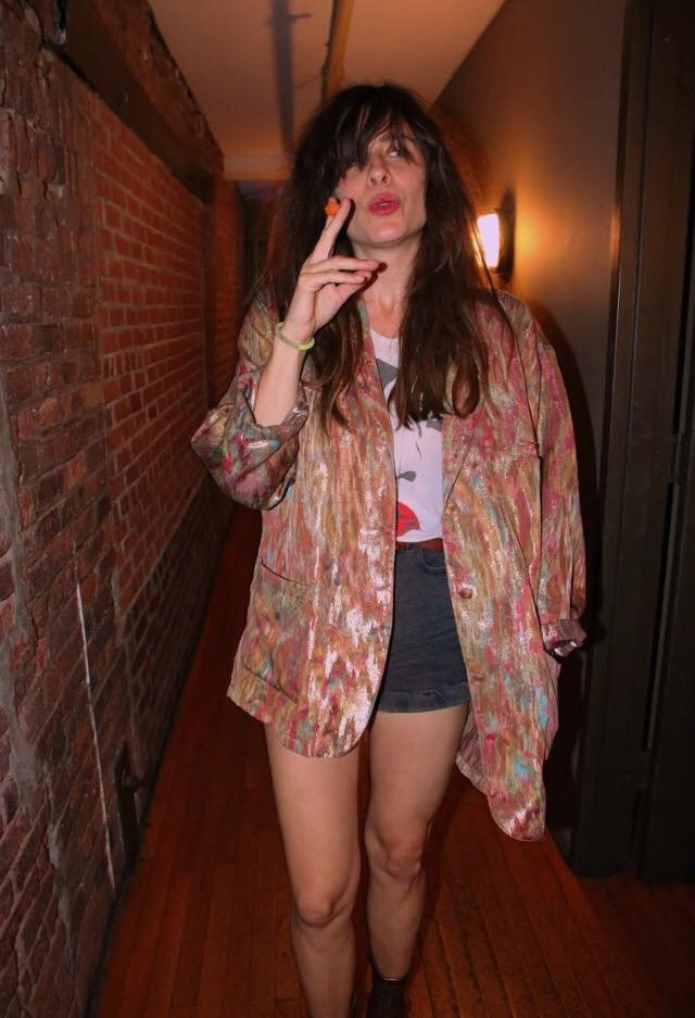 Sabina Sciubba before show official website photo by David Baren in New York City