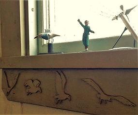 Seagulls Edison Studio Window