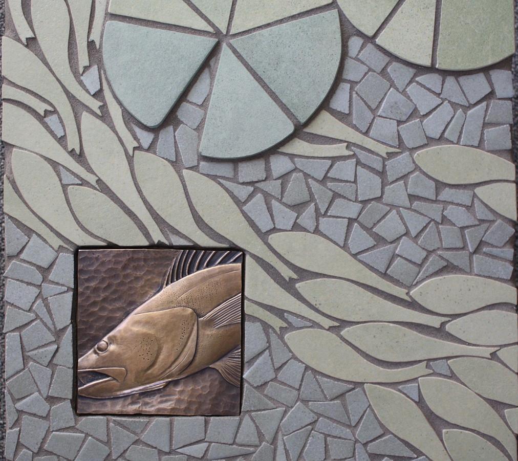 POND LIFE, A CLOSER LOOK (detail)