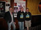 "Glen Coburn, Vinnie Pascarello andJeff Meyer just before embarking on producing their film, ""Alien Invasion."""