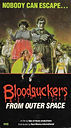 Warner Brothers Bloodsuckers VHS cover. Coburn was furious over the misspelling of his name.