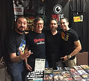 Glen Coburn with Planet of the Apes fan clubat Texas Frightmare Weekend DFW 2018