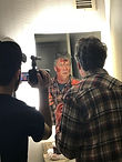 Glen Coburn plays a serial killer in film director, Jim Roberts, Bergman homage.