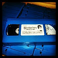 Glen Coburn sees Bloodsuckers VHS in blue. Blue VHS tapes are rare and only used for special releases.