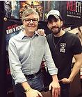 Glen Coburn and Academy Academy Award winning director Jim Roberts. Stephen Spielberg said that Roberts has a promising career.