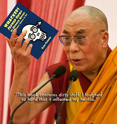 Dalai reads Glen Coburn's book, Whacked Movies Skewed Views of Horror Movies that Simply Refuse to Die.