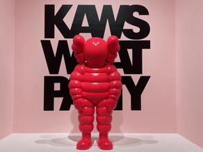 KAWS takes Brooklyn Museum
