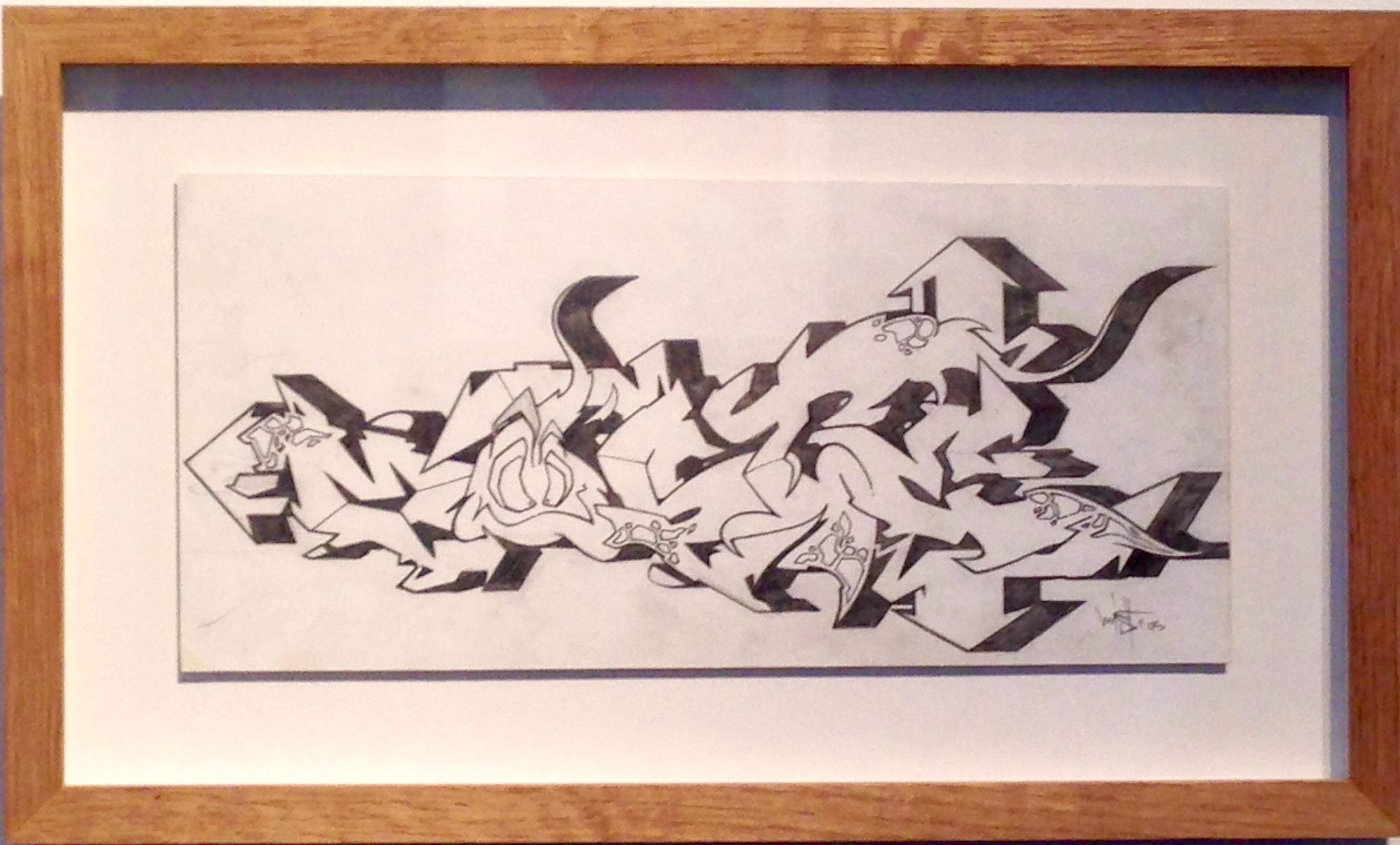 Drawing #7 (MIST), 1995