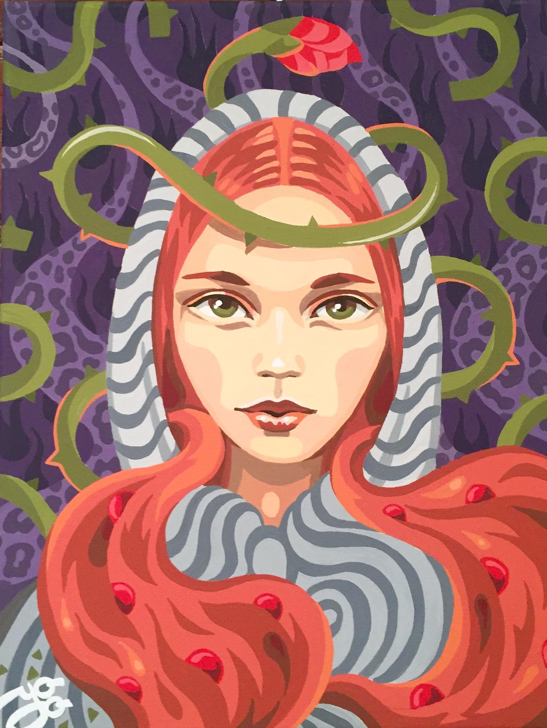 """Julia Yu-Baba - """"Wild Rose"""""""