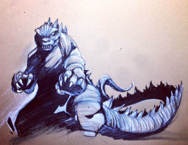 CES - Godzilla