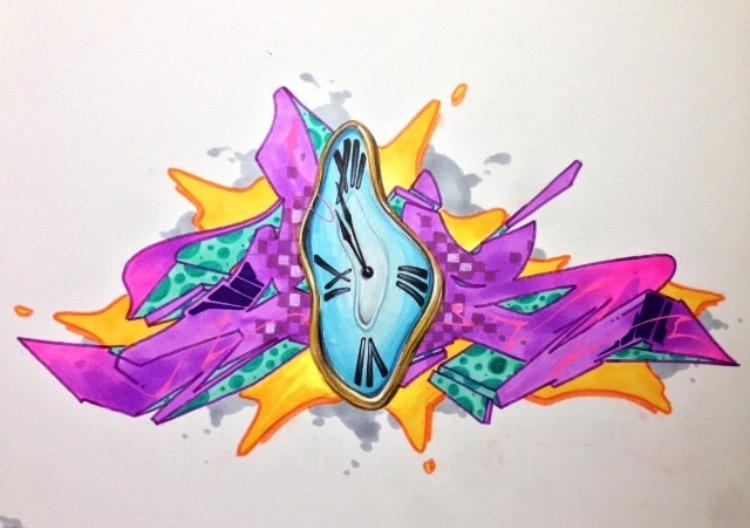 CES - Dali Clocks