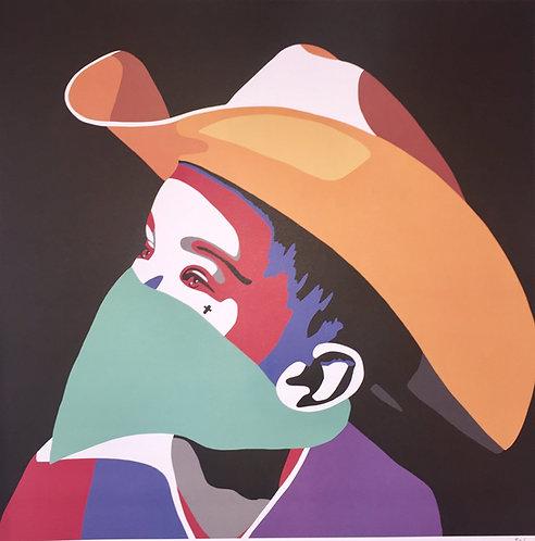 """Solus""""Cowboy"""" print"""