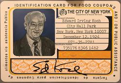 Mayor Koch