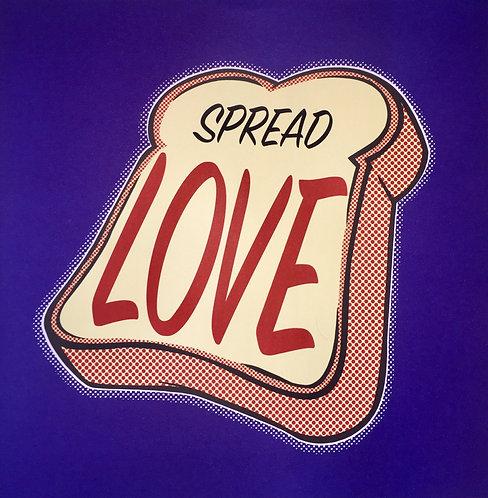"Solus""Spread the Love"" print"