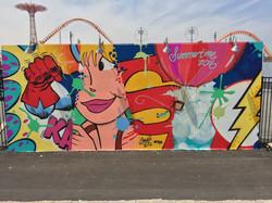 Coney Island Walls, 2016