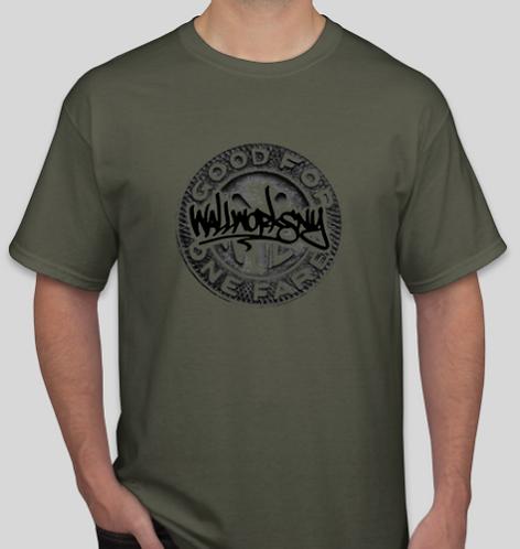 wallworks token unisex t-shirt