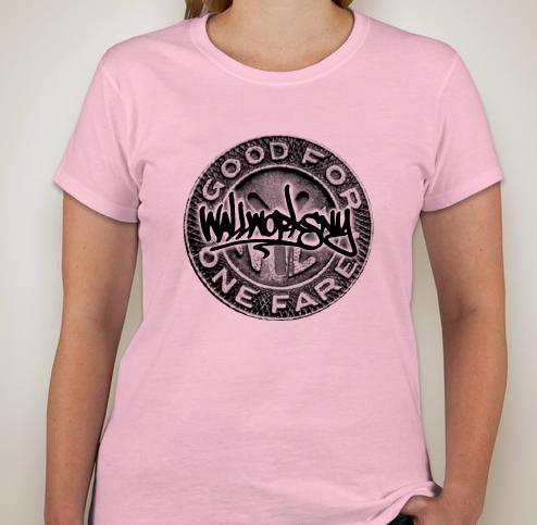 wallworks token women's t-shirt