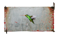 Tiny Green Bird (Galvanized)