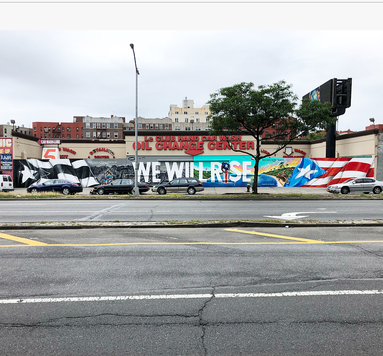 We Will Rise, The Bronx, 2018