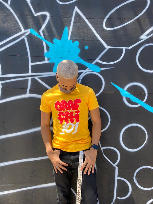 Graffiti 101, yellow