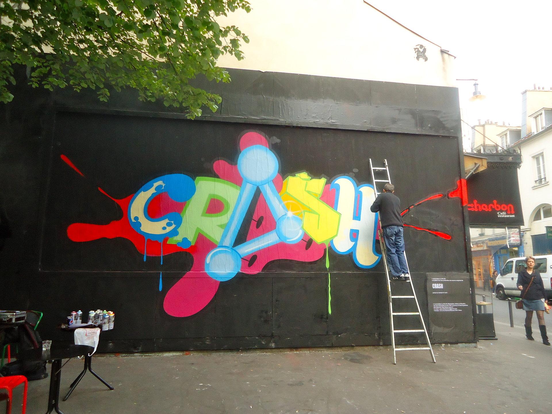 Le Mur, Paris, 2012
