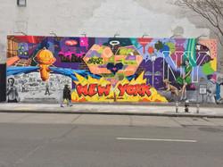 Houston Bowery Wall, NYC, 2018