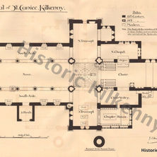St. Canice's Cathedral - Plan