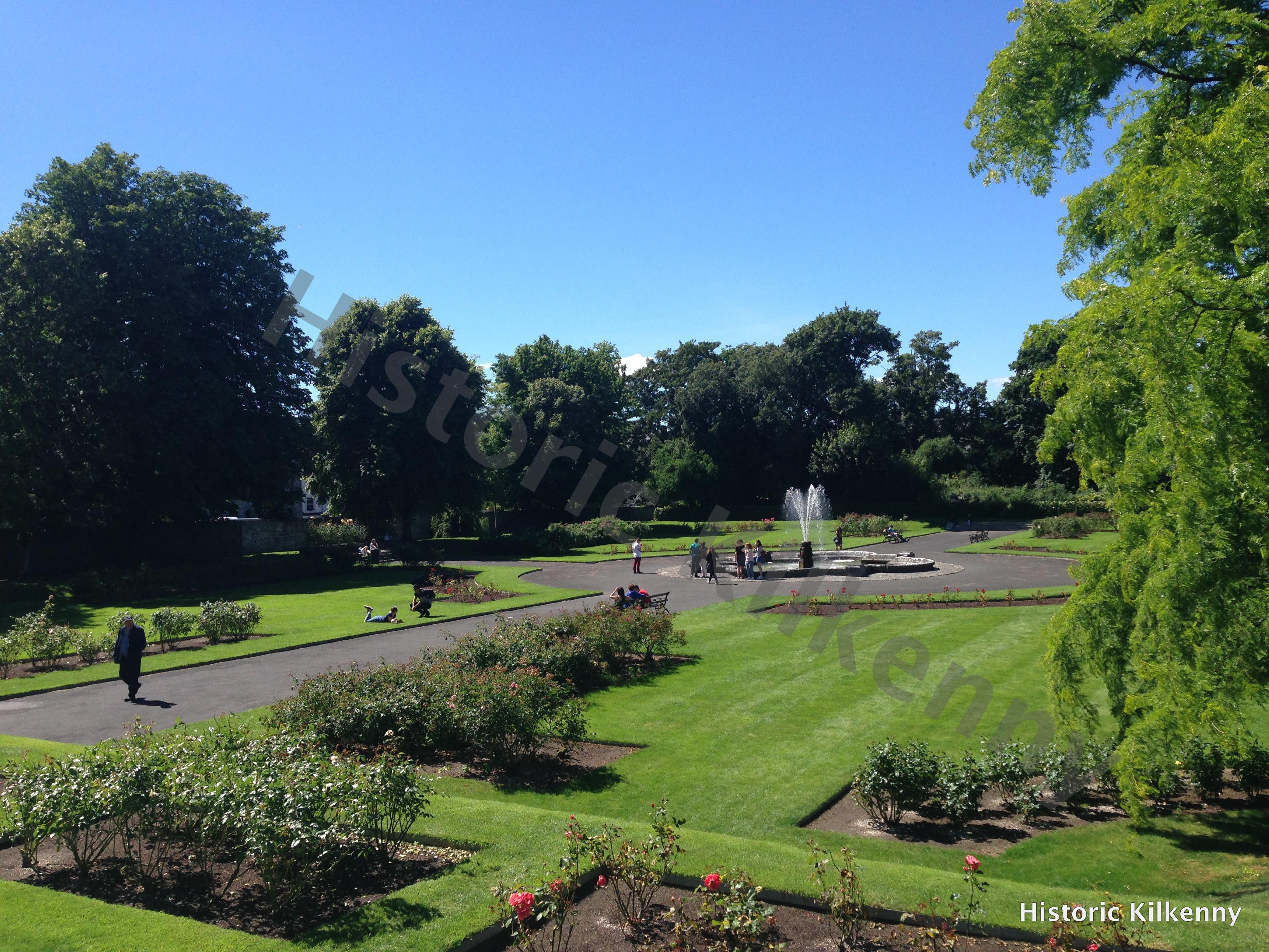 Kilkenny Castle Rose Garden