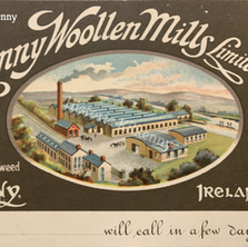 Kilkenny Woollen Mills postcard