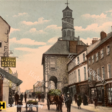 High Street postcard