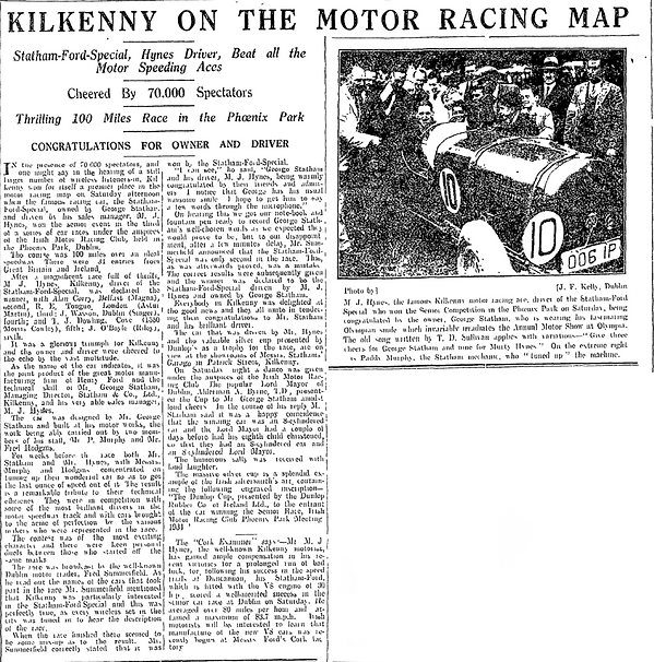 Statham Ford Special in Kilkenny People