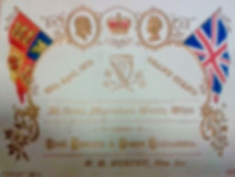 Ticket for the 1904 Kilkenny Agricultural Show Grand Stand