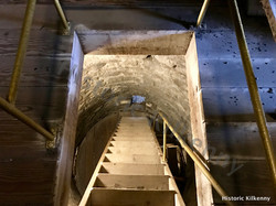 St. Canice's Round Tower ladder