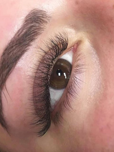 Soft Volume Lashes & Brow Threading for