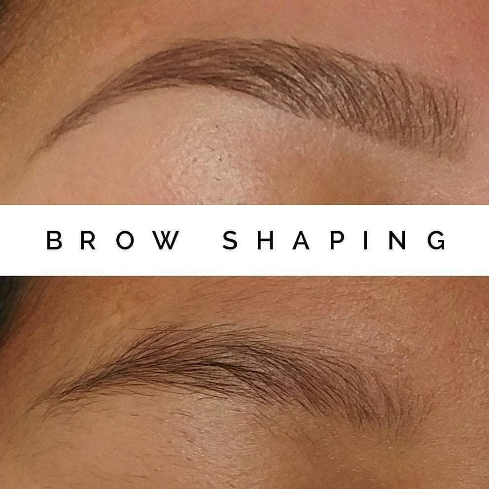 Brow Shaping + Makeup