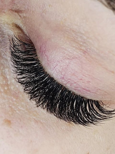 Full Volume Lashes done by our Master La