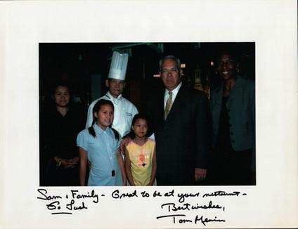 With Mayor Menino