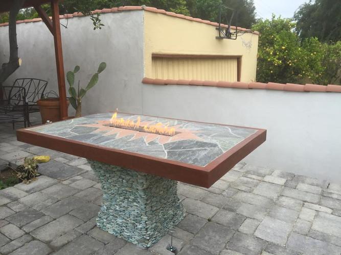 Custom Built Firetable