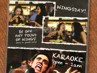 Wednesday: Wing Day!!!