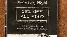 Monday: Industry Night