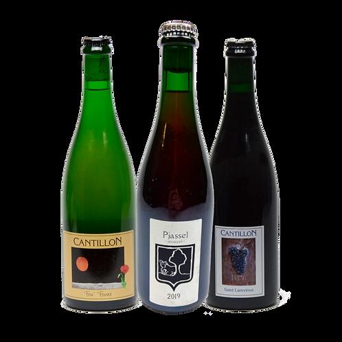 Bokke Pjassel Moezel 2019 with matching bottles